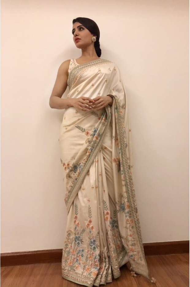 Samantha Ruth Prabhu in Anita Dongre for an event (2)