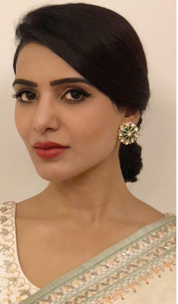 Samantha Ruth Prabhu in Anita Dongre for an event (3)