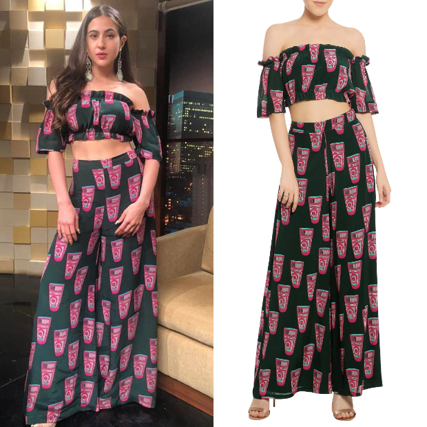 Sara Ali Khan in Masaba Gupta for Kedarnath promotions (2)