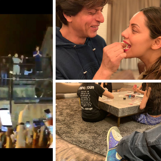 Shah Rukh Khan birthday special The Zero star rings in his birthday with wife Gauri, kids and his Jabra fans (see INSIDE pics)