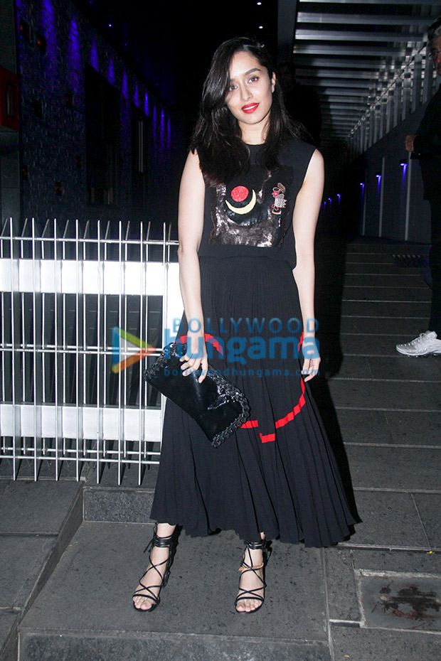 Shraddha Kapoor in Reem Acra for a birthday bash (3)