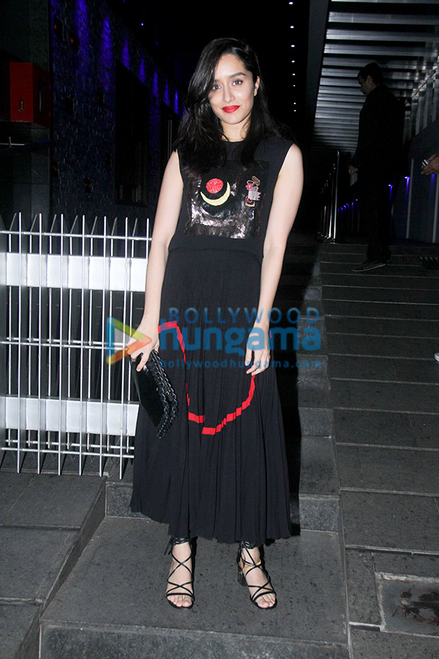 Shraddha Kapoor in Reem Acra for a birthday bash (7)