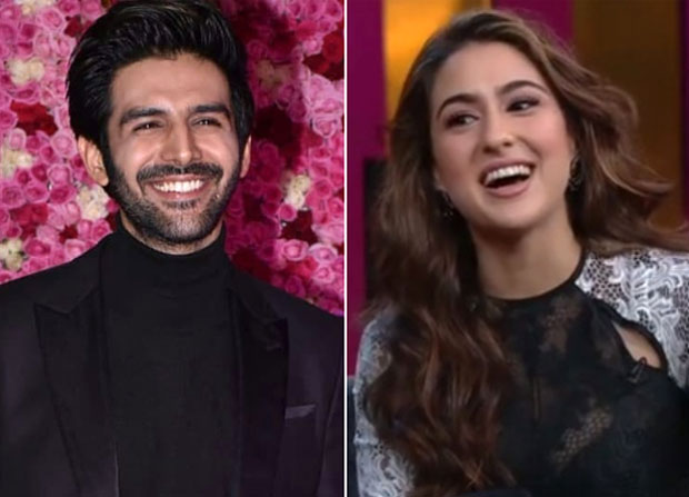 WATCH: Kartik Aaryan BLUSHES as he reacts on Sara Ali Khan's confession on Koffee With Karan that she wants to date him