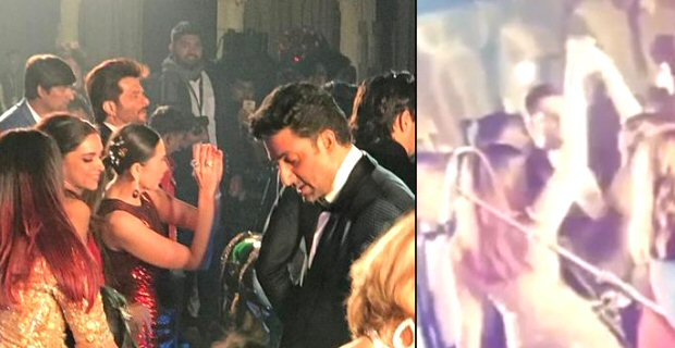 Aishwarya Rai Bachchan and Karisma Kapoor DANCE TOGETHER at the Isha Ambani - Anand Piramal's wedding celebration