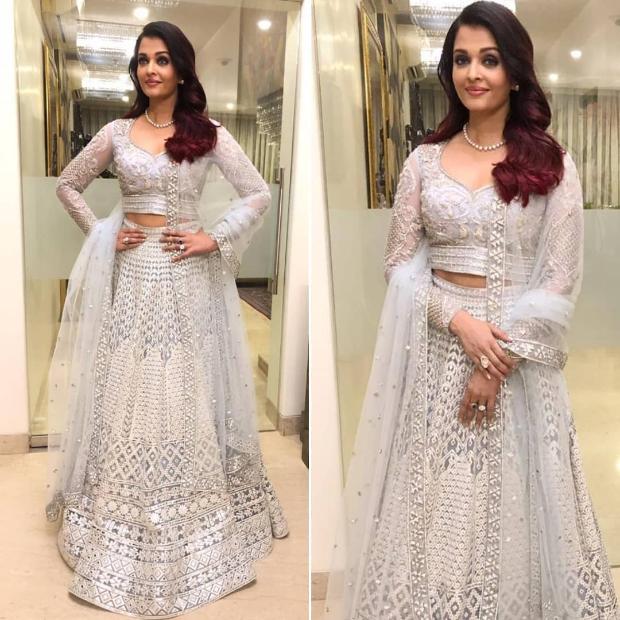 Aishwarya Rai Bachchan at Ranveer Singh - Deepika Padukone wedding reception