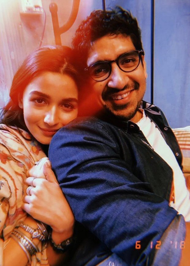 Alia Bhatt announces Brahmastra schedule wrap, shares a pic with Ayan Mukerji