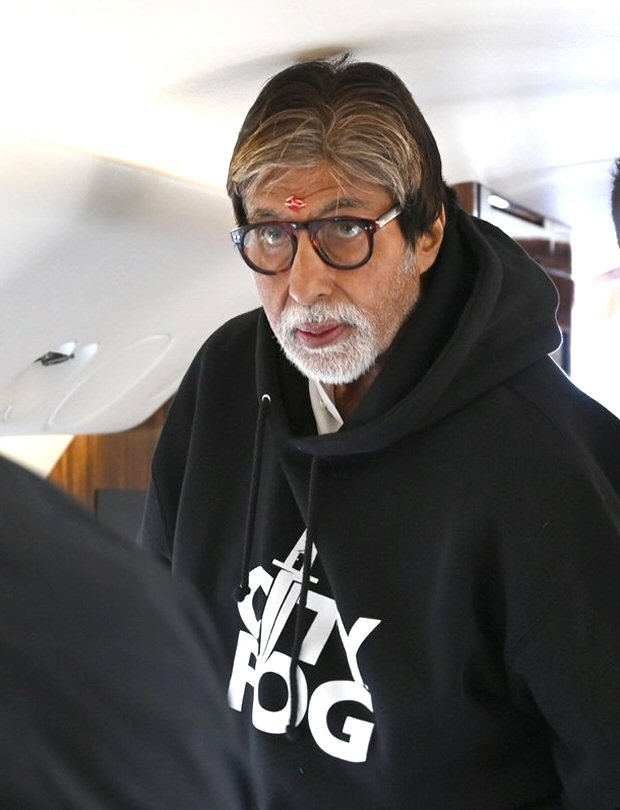 Amitabh Bachchan begins shooting for his football film Jhund with SAIRAT director