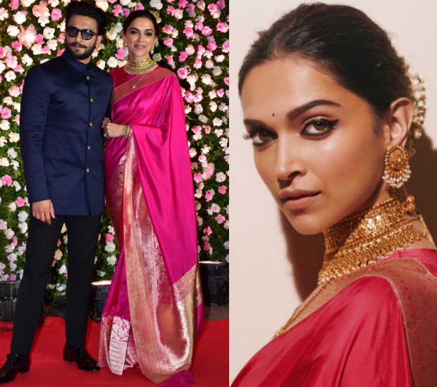 Best Dressed - Deepika Padukone in Raw Mango for Kapil Sharma - Ginni Chatrath wedding reception