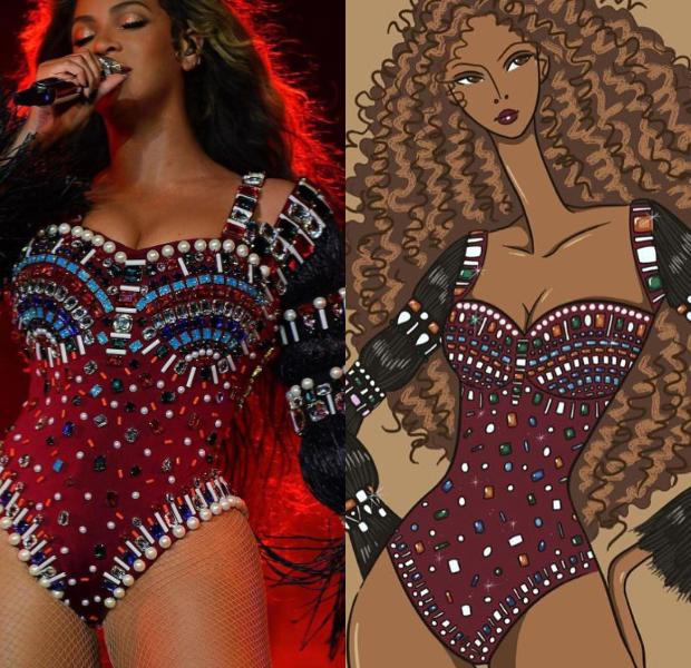 Beyonce in Shivan and Narresh (2)