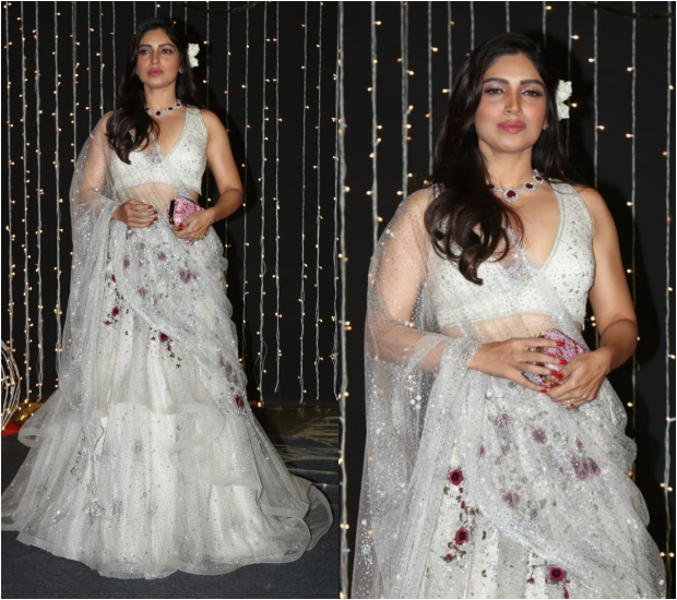 Bhumi Pednekar at Priyanka Chopra - Nick Jonas Wedding Reception