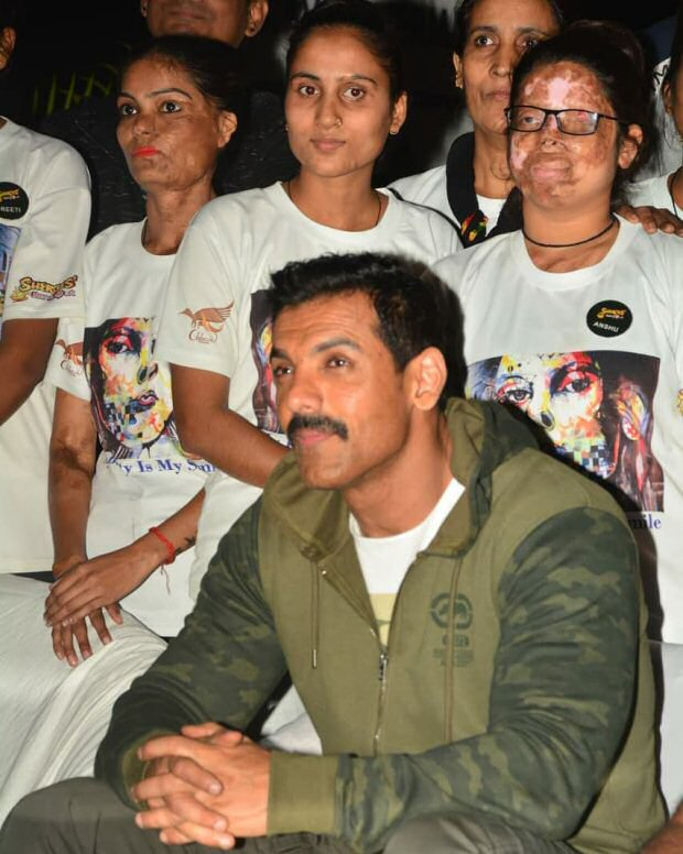 Check out John Abraham meets up with acid attack survivors in Lucknow
