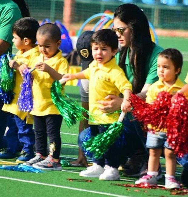 Check out: Taimur Ali Khan at Sports day with mommy Kareena Kapoor Khan