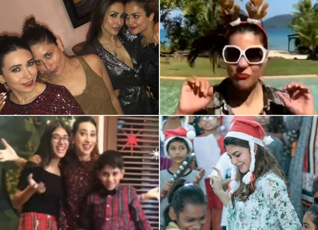Christmas 2018: Kareena Kapoor Khan, Karisma Kapoor, Malaika Arora, Kajol, Jacqueline Fernandez get in the festive spirit