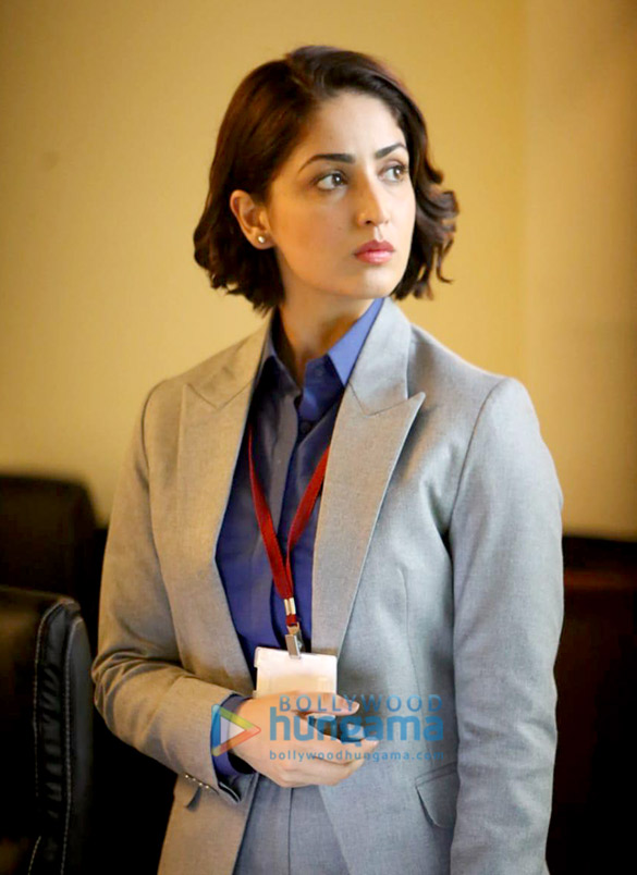 First Look - Yami Gautam looks intense in the first look from URI as an Intelligence officer