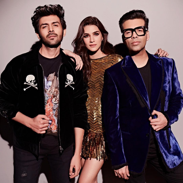 Koffee With Karan 6: Luka Chuppi pair Kartik Aaryan and Kriti Sanon to make their debut on Karan Johar's show