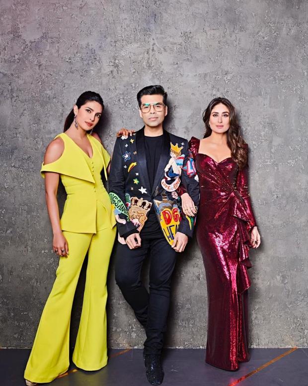 Koffee With Karan 6: Stunning divas Priyanka Chopra and Kareena Kapoor Khan come together for an exciting grand finale