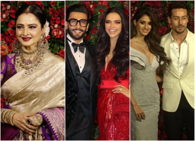 Ranveer Singh - Deepika Padukone Mumbai Reception: Tiger Shroff, Disha Patani, Rekha, Vicky Kaushal arrive in style