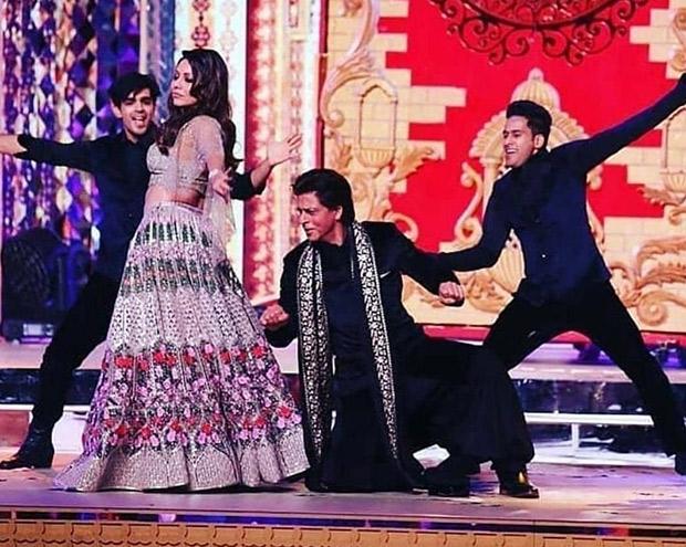 INSIDE PICS AND VIDEOS: Shah Rukh Khan - Gauri, Aishwarya Rai Bachchan along with Amitabh Bachchan, Aamir Khan set stage on fire at Isha Ambani - Anand Piramal wedding