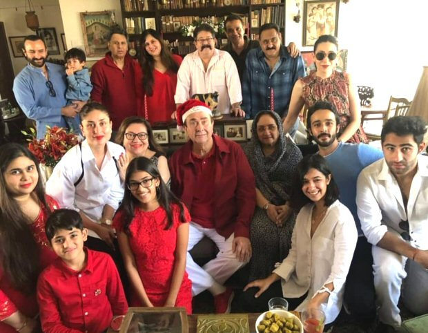 Inside Kapoors' Christmas lunch party: Taimur Ali Khan is the cynosure of attention yet again (watch inside videos)