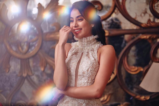 Janhvi Kapoor in Faraz Manan for Lokmat Most Stylish Awards 2018 (5)