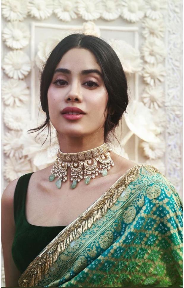 Janhvi Kapoor in Manish Malhotra for Isha Ambani wedding festivities (2)