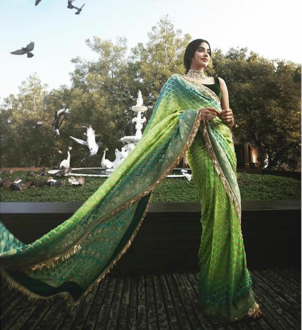 Janhvi Kapoor in Manish Malhotra for Isha Ambani wedding festivities (4)