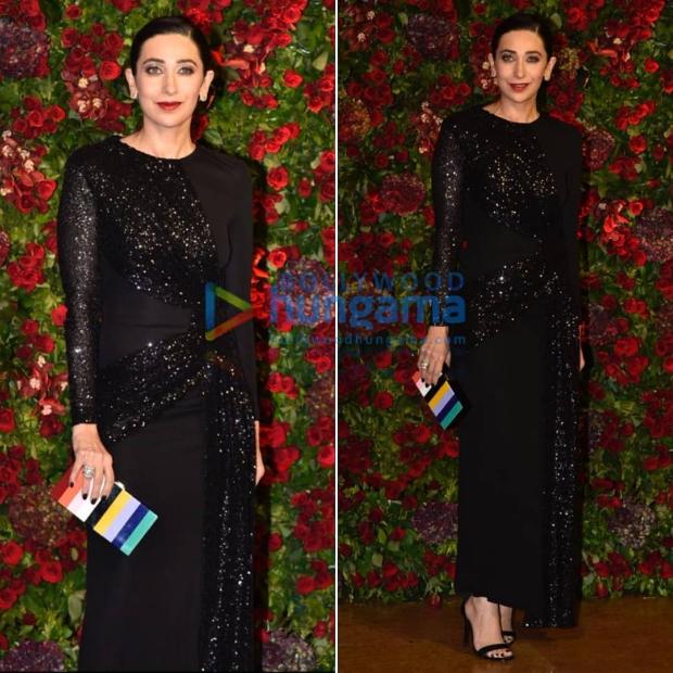 Karisma Kapoor at Ranveer Singh - Deepika Padukone wedding reception