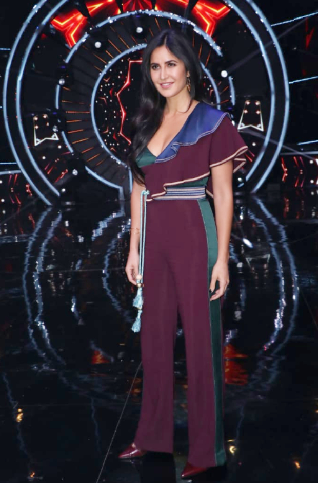 Katrina Kaif in Peter Pilotto for Zero promotions on Indian Idol 10 (1)