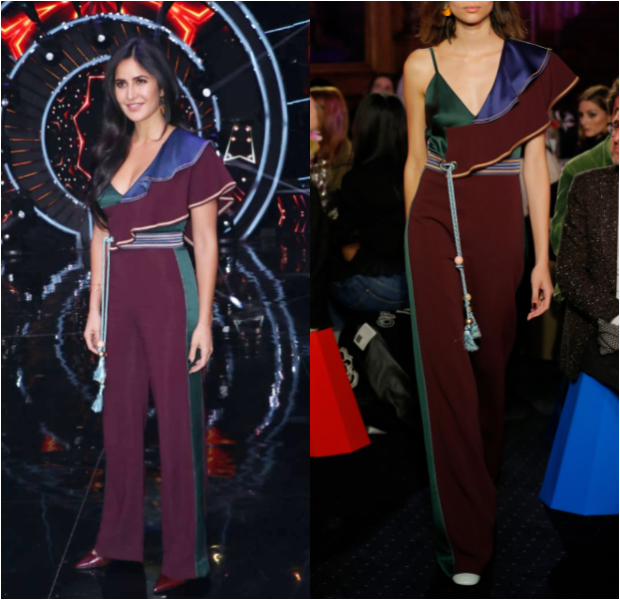 Katrina Kaif in Peter Pilotto for Zero promotions on Indian Idol 10 (4)