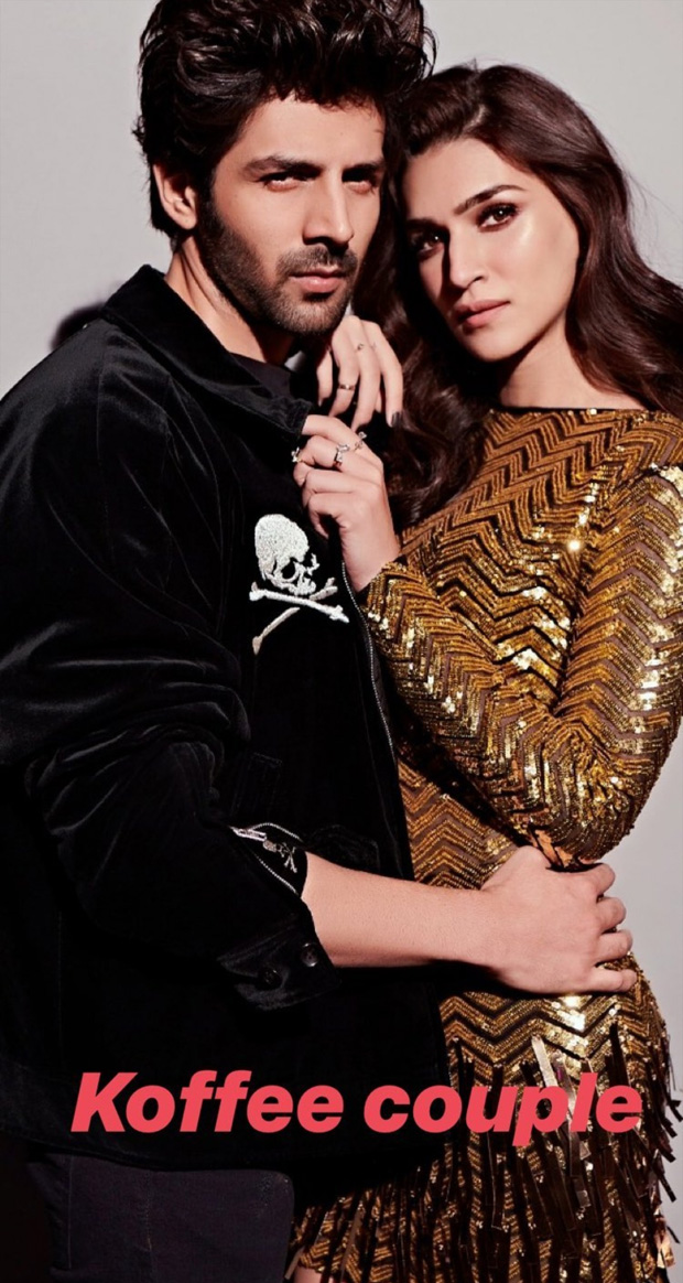 Koffee With Karan 6 Luka Chuppi pair Kartik Aaryan and Kriti Sanon to make their debut on Karan Johar's show