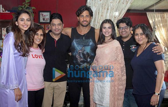 Sidharth Malhotra, Tara Sutaria, Rakul Preet starrer Marjaavaan goes on floors