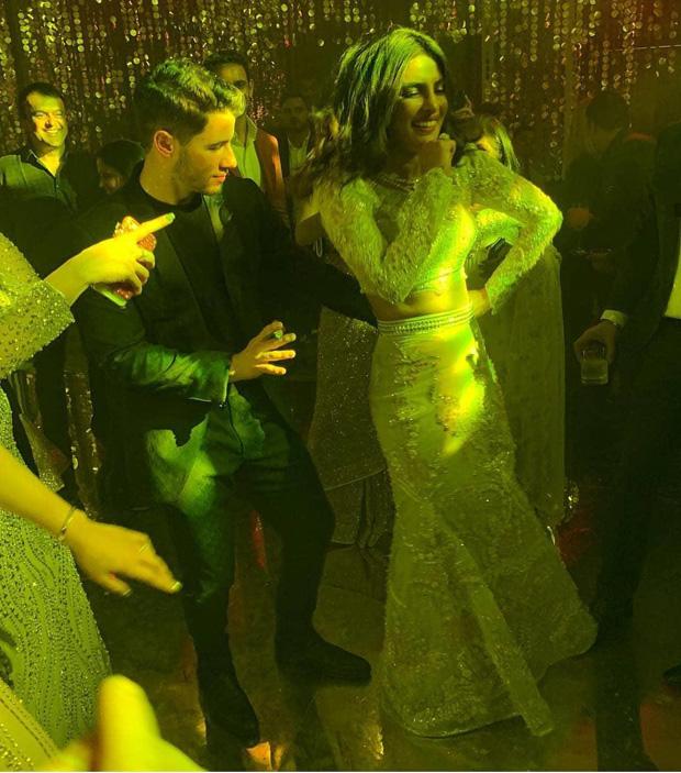 Nickyanka reception PICS & VIDEOS: Priyanka Chopra, Ranveer Singh, Deepika Padukone dancing to Pinga, Nick Jonas grooving to Gallan Goodiyan and all the inside DRAMA