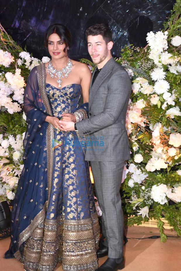 Priyanka Chopra - Nick Jonas Mumbai Reception The couple looks CRAZY IN LOVE in their stunning outfits
