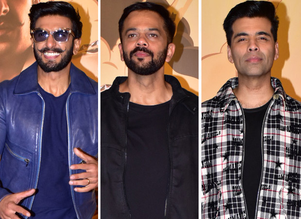 SIMMBA TRAILER LAUNCH Ranveer Singh - Rohit Shetty reveal Karan Johar has a cameo in the film