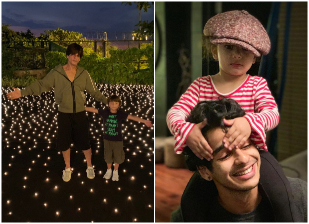 Shah Rukh Khan and AbRam Khan, Ishaan Khatter and Misha Kapoor are already in festive mood this Christmas