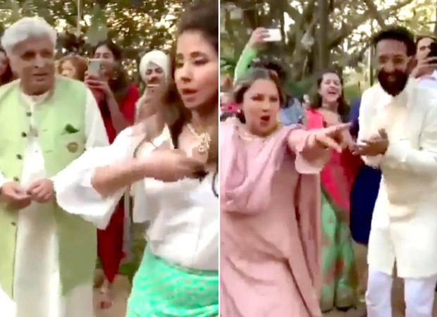This video of Javed Akhtar, Shabana Azmi and Urmila Matondkar dancing on 'Shola Joh Bhadke' will make you groove