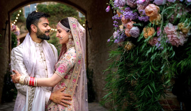 UNSEEN VIDEO & PICS: Virat Kohli and Anushka Sharma celebrate one year marriage anniversary, relive their wedding day with mushy messages