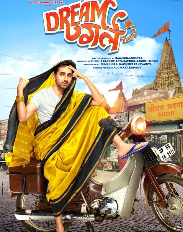 WOAH! Ayushmann Khurrana dons a SAREE! Introduces his quirky drama Dream Girl