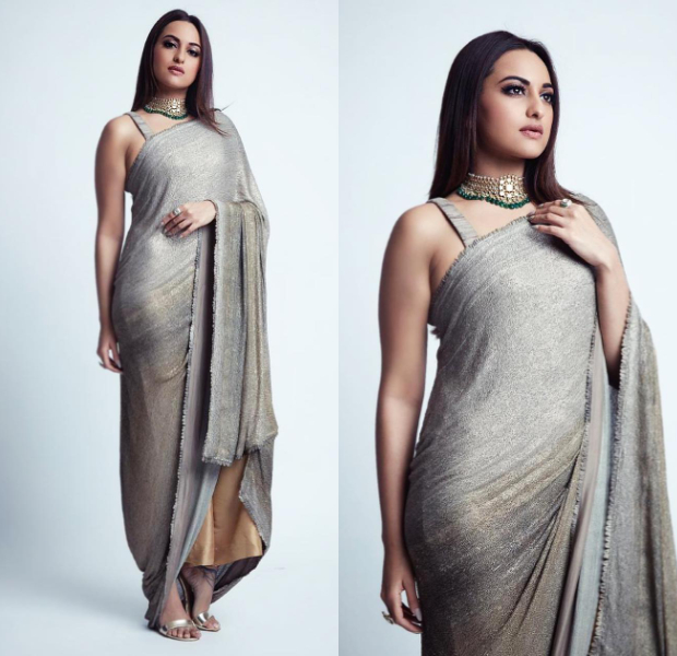 Worst Dressed - Sonakshi Siha in Anamika Khanna