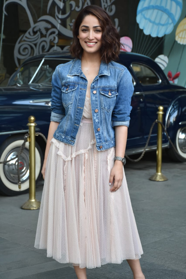 Yami Gautam in Needle and Thread for Uri promotions (4)