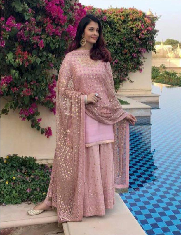 Aishwarya Rai Bachchan in Sukriti and Aakriti for pre-wedding festivities in Udaipur (1)