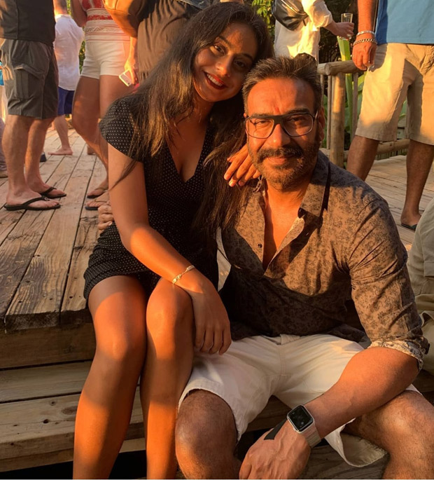 Ajay Devgn and Nysa Devgn are giving father - daughter goals during their Thailand getaway