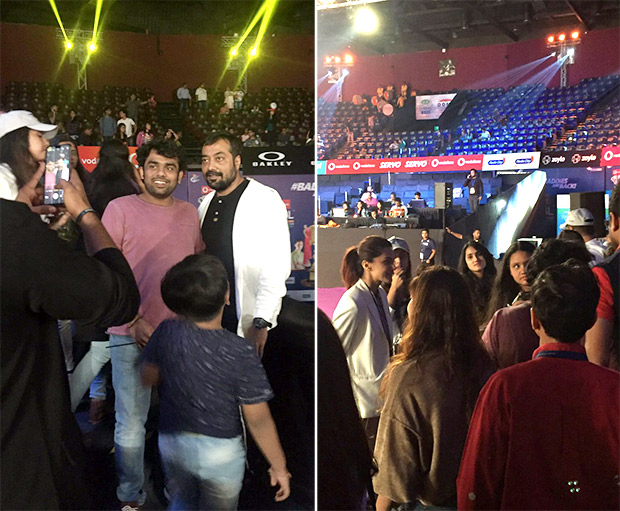 Anurag Kashyap cheers for Taapsee Pannu's team 7 Aces Pune that also has her alleged boyfriend Danish badminton player bae Mathias Boe