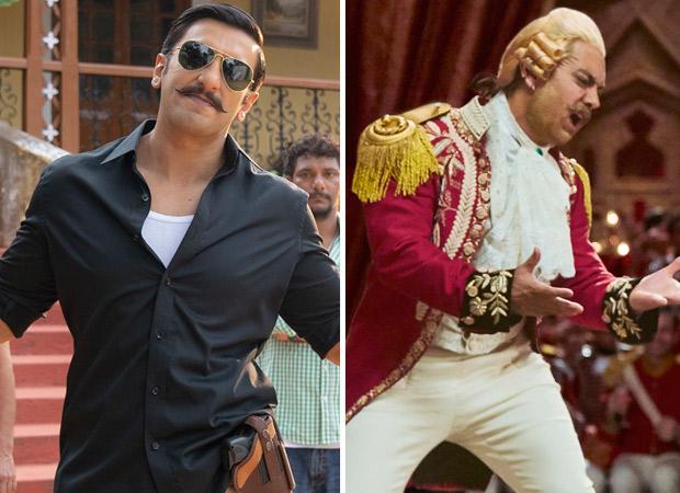 Box Office Ranveer Singh beats Aamir Khan; Simmba surpasses Thugs of Hindostan to become 3rd highest worldwide grosser of 2018