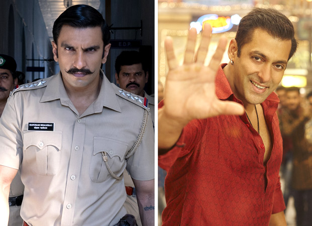 Box Office Ranveer Singh pips Salman Khan to become the highest grossing male celebrity in a single year