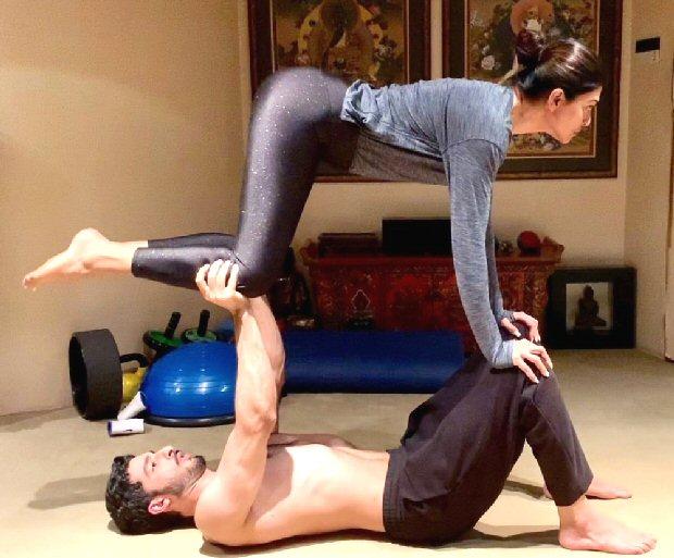 COUPLE GOALS! Sushmita Sen loves training with her 'jaan' Rohman Shawl