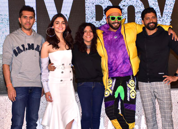 Gully Boy Trailer Launch Ranveer Singh is the energizing bunny, but he is extremely sensitive - Zoya Akhtar