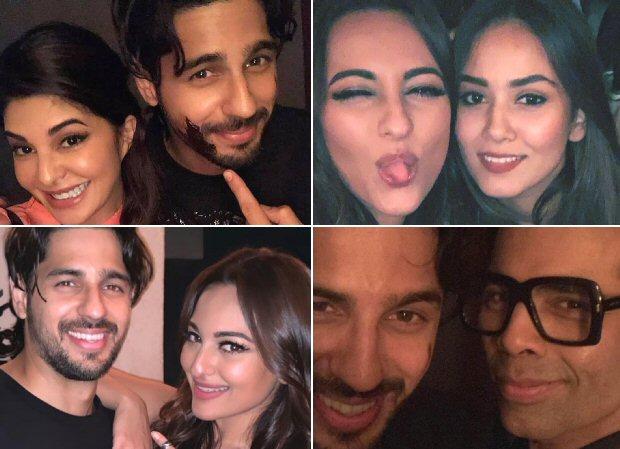 Inside Photos & Videos: Sidharth Malhotra rings in his 34th birthday with Jacqueline Fernandez, Sonakshi Sinha, Karan Johar among others