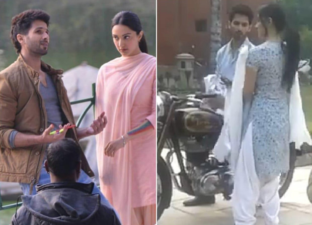 LEAKED PICS & VIDEOS! Kabir Singh aka Shahid Kapoor takes Kiara Advani on a bike ride on streets of Delhi