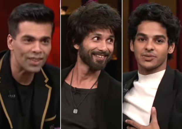 Koffee With Karan 6 Shahid Kapoor reveals his advice to Priyanka Chopra's husband Nick Jonas, Ishaan Khatter talks about rumoured affair with Janhvi Kapoor
